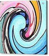 Three Swirls Acrylic Print by Helena Tiainen