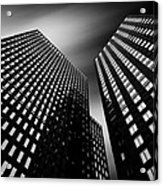 Three Towers Acrylic Print by Dave Bowman