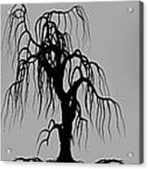 Three Trees Acrylic Print by Bob Orsillo