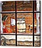 Through The Window Acrylic Print by Marty Koch