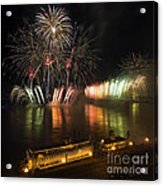 Thunder Over Louisville - D008432 Acrylic Print by Daniel Dempster