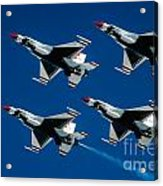 Thunderbirds Acrylic Print by Larry Miller