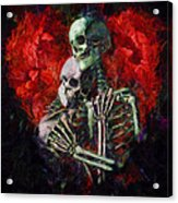 Til Death Acrylic Print by Christopher Lane