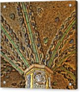 Tile Work Acrylic Print by Susan Candelario