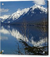 Time For Reflection Acrylic Print by Fran Riley