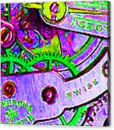 Time In Abstract 20130605p72 Acrylic Print by Wingsdomain Art and Photography