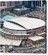 Time Warner Cable Arena Acrylic Print by Bill Cobb