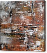 Timeless - Abstract Painting Acrylic Print by Ismeta Gruenwald