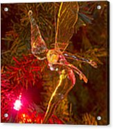 Tinker Bell Christmas Tree Landing Acrylic Print by James BO  Insogna