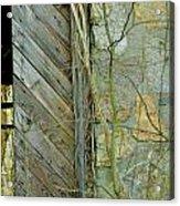 Tn Door 1 Acrylic Print by Jeffrey J Nagy