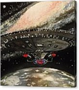 To Boldly Go... Acrylic Print by Tim Loughner