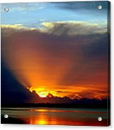 Today Is Forever Lost Tomorrow Acrylic Print by Karen Wiles