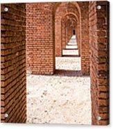 Tortugas Infinite Walkway Acrylic Print by Adam Pender