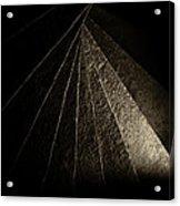 Tortugas Spiral Stone Acrylic Print by Adam Pender