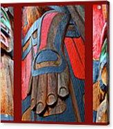 Totem 3 Acrylic Print by Theresa Tahara