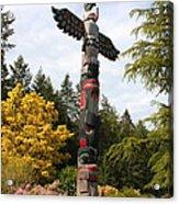 Totem Pole  Acrylic Print by Carol Groenen