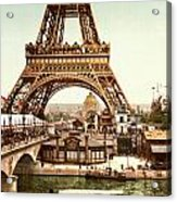 Tour Eiffel And Exposition Universelle Paris Acrylic Print by Georgia Fowler