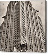 Towering Bw Acrylic Print by JC Findley