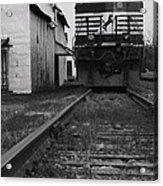 Train 9020 Acrylic Print by Jerry Mann