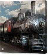 Train - Engine - 6 Nw Class G Steam Locomotive 4-6-0  Acrylic Print by Mike Savad