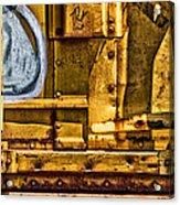 Trainworks.83735 Acrylic Print by Gary LaComa