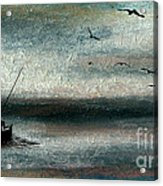 Tranquil Sea Acrylic Print by R Kyllo