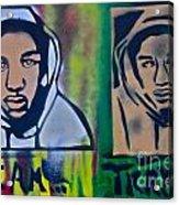 Trayvon Martin Acrylic Print by Tony B Conscious