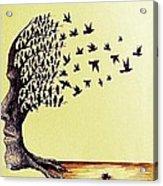 Tree Of Dreams Acrylic Print by Paulo Zerbato
