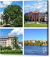 Trenton New Jersey Acrylic Print by Olivier Le Queinec
