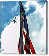 Tribute To The Day America Stood Still Acrylic Print by Rene Triay Photography