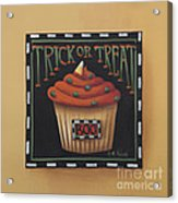 Trick Or Treat Acrylic Print by Catherine Holman