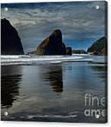 Triple Reflections Acrylic Print by Adam Jewell