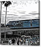 Tron Monorail Wdw In Sc Acrylic Print by Thomas Woolworth