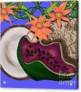 Tropical Fruit Acrylic Print by Christine Fournier