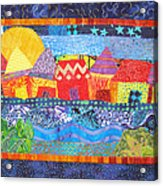 Tropical Harmony Acrylic Print by Susan Rienzo