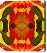 Tropical Leaf Pattern 17 Acrylic Print by Amy Vangsgard