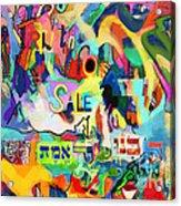 Truth For Sale N Acrylic Print by David Baruch Wolk