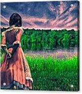 Tuesdays Child Acrylic Print by Bob Orsillo