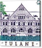 Tulane Acrylic Print by Frederic Kohli