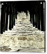 Tunnel Vision Acrylic Print by Karen Wiles