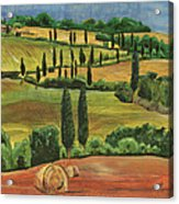 Tuscan Dream 1 Acrylic Print by Debbie DeWitt