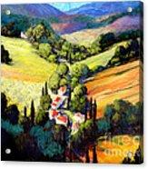 Tuscany Acrylic Print by Michael Swanson