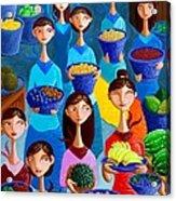 Tutti Frutti Acrylic Print by Paul Hilario