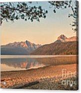 Twilight At Redfish Lake  Acrylic Print by Robert Bales