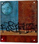 Twilight Walk Acrylic Print by Carol Leigh