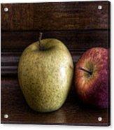 Two Apples Acrylic Print by Leonardo Marangi