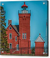 Two Harbors Lighthouse Acrylic Print by Paul Freidlund
