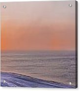 Two Sundogs Hang In The Air Over The Acrylic Print by Kevin Smith