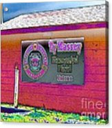 Ty Massey Memorial Colona Il Acrylic Print by Margaret Newcomb