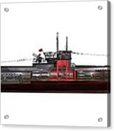 Type Viic42 U-boat, Artwork Acrylic Print by Science Photo Library